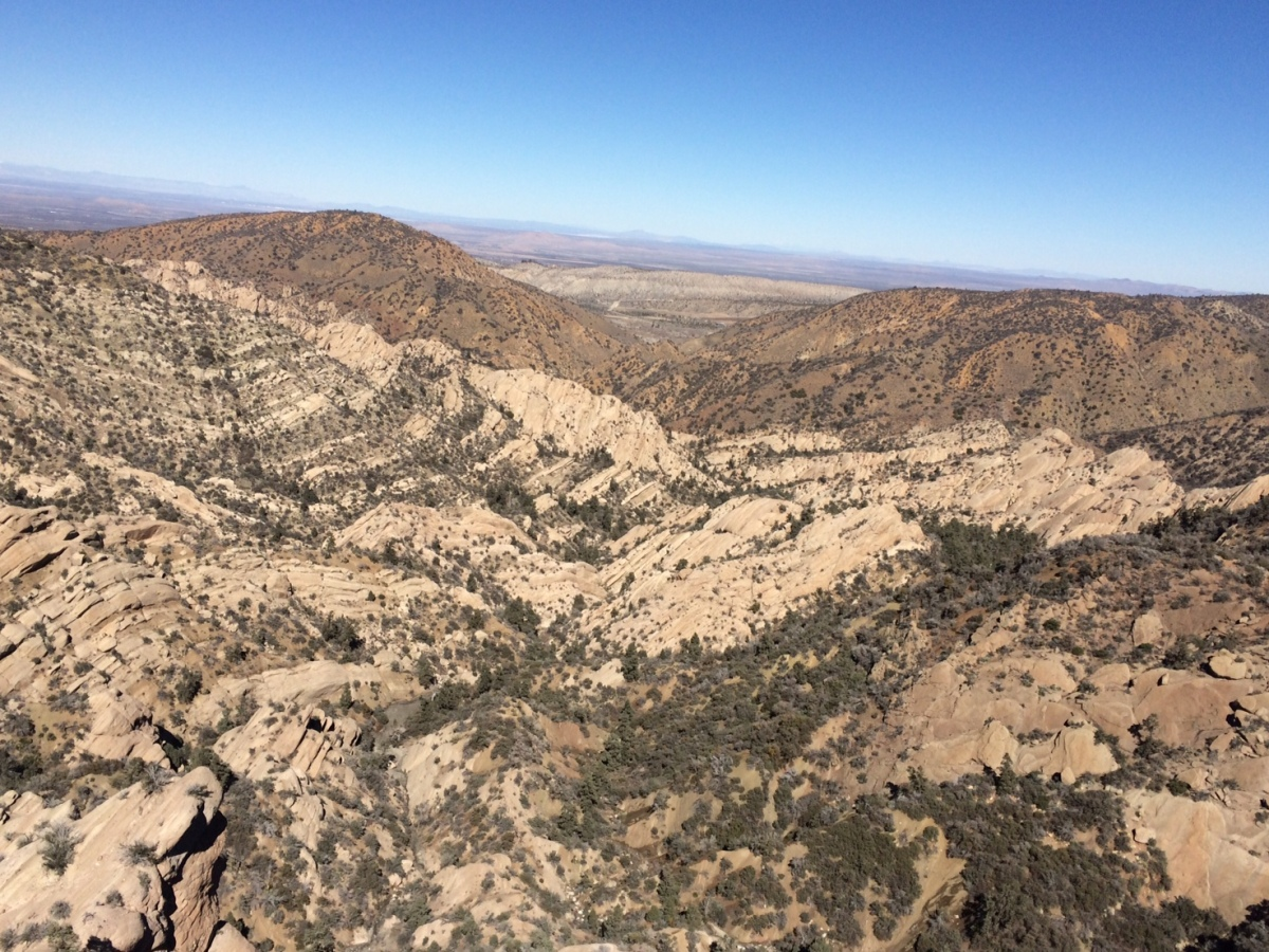Trail Run in California: Devil's Punchbowl