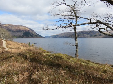 Loch Lochy, and beyond, I think a fairytale kingdom. Castles and everything.