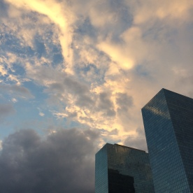 Definitely missed the sky in Houston. The clouds here do wonderful things.