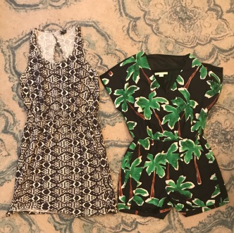Casual dress for site-seeing, Romper that will work well in both Tokyo & Hawaii.