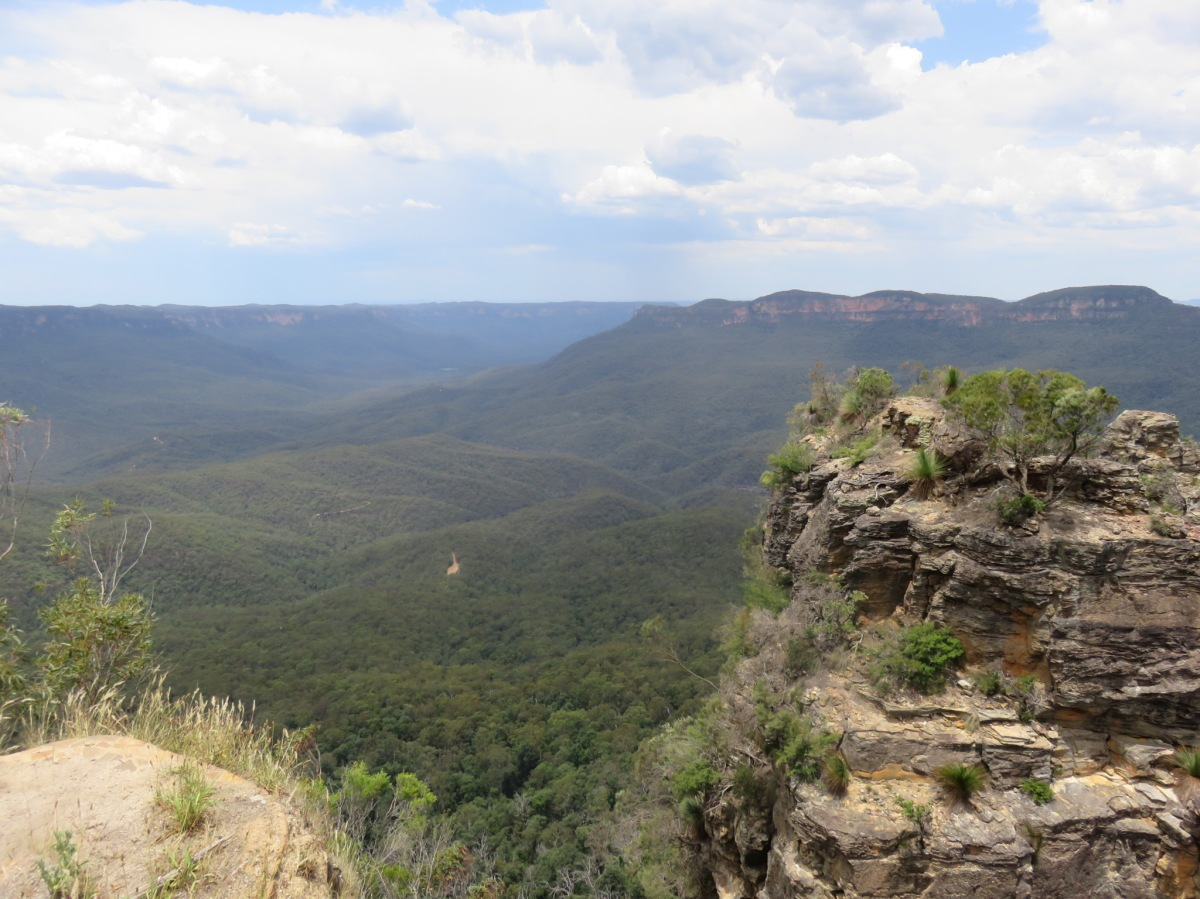 Trail Run in Australia: Blue Mountains, NSW Pt. 1